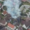 13.05.12: Gebäudebrand